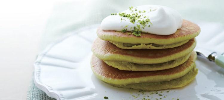 Pancake al pistacchio