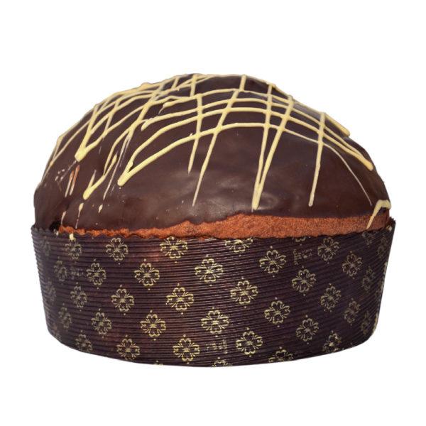 Panettone al cioccolato di Modica e peperoncino